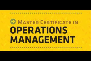 Kansas leadership training center of management development offers operations management certificate