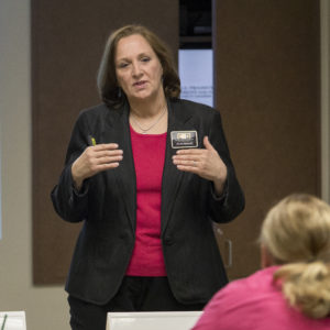 Kansas leadership training instructor Anita Barrett, PMP
